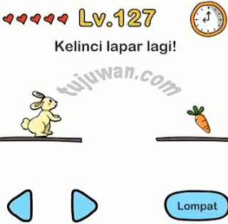 Brain Out : Kelinci Lapar Lagi! Jawaban Brain Out Level 127