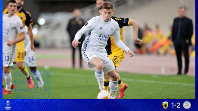 ملخص واهداف مباراة ليستر سيتي وايك اثينا (2-1) الدوري الاوروبي