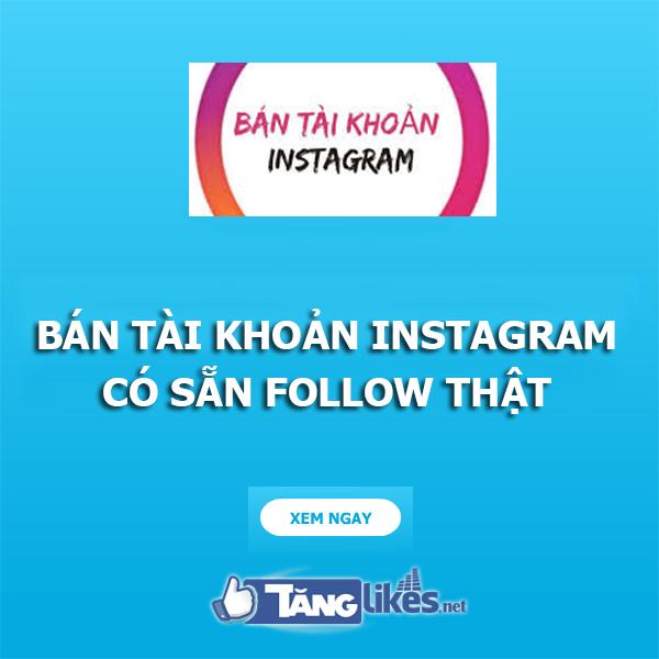 ban tai khoan instagram