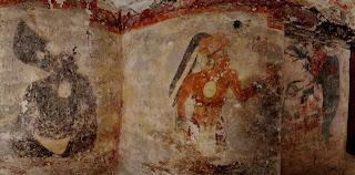 シュルトゥン遺跡からマヤ暦最古のカレンダーと王の壁画発見