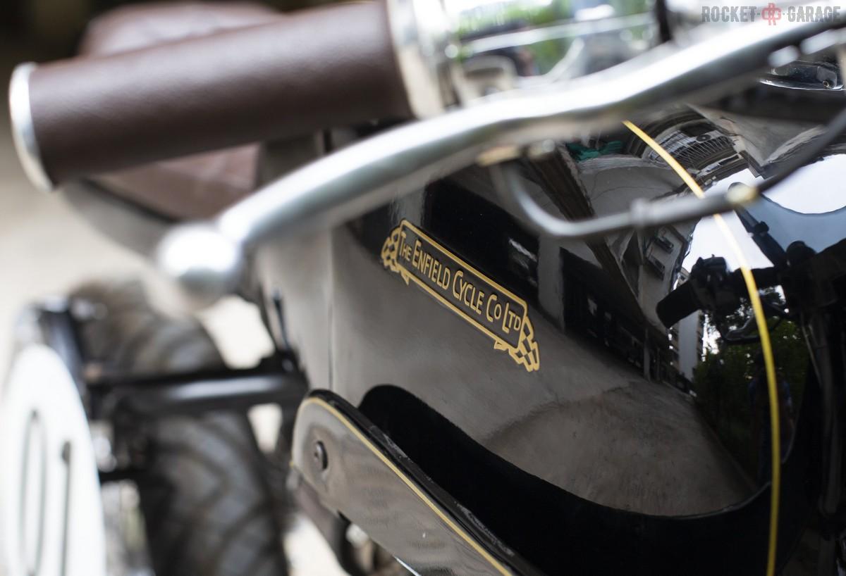 Back to British Spirit | Royal Enfield Cafe Racer Kit - RocketGarage