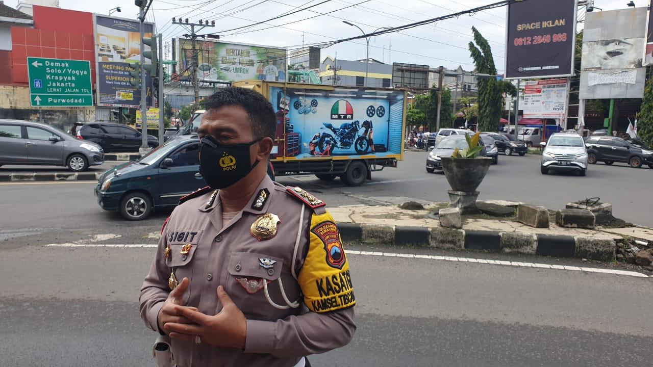 Jelang Kunjungan Presiden Ke Jateng Besok, Begini Persiapan Satlantas Polrestabes Semarang