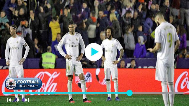 Levante vs Real Madrid – Highlights