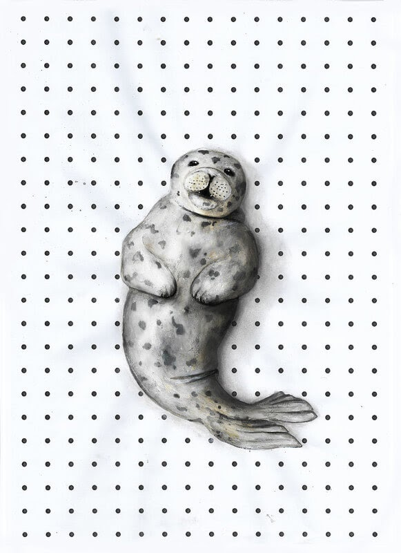 12-Seal-Iantha-Naicker-Drawing-of-Lines-and-Animals-www-designstack-co