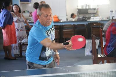 Atletas da terceira idade da Ilha Comprida treinam para os JORI