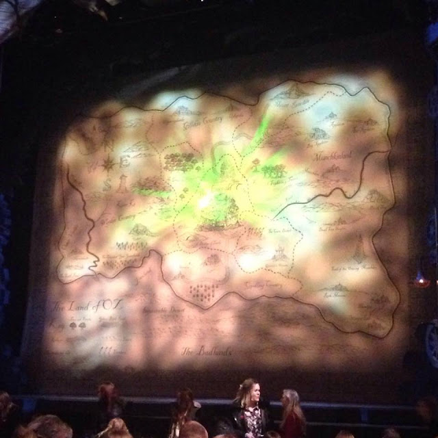 The Wicked stage, at the Apollo Theatre, London