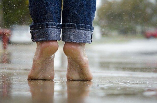 screpolature sulla pianta del piede