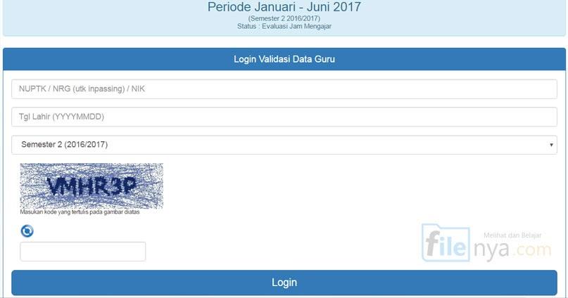 5 Langkah Cek Sktp Smk Sma Smp Sd 2017 Dan Link Situs Gtk Ptk Filenya