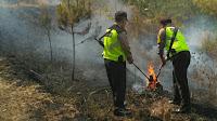 Hutan Diatas Wisata Gunung Geulis Terbakar
