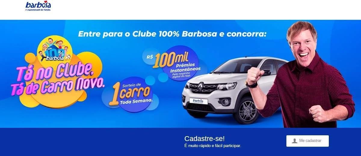 Promoção Barbosa 2020 Sorteio Carro Novo
