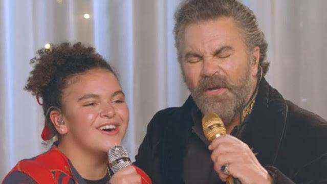 Lucero aplaude dueto de Mijares y su hija