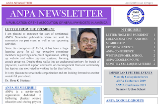 Newsletter-April,2019