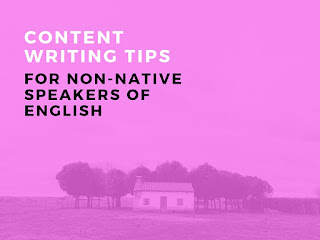 how to write a blog in English