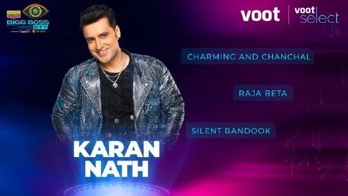 Bigg Boss OTT Contestant 6 - Karan Nath