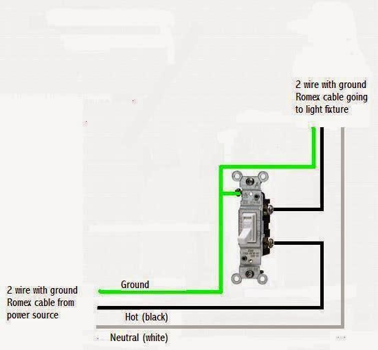 DIY Mobile Home Repair: Light Switch Wiring Diagram