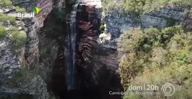 As belezas naturais da região, como sempre, em destaque nacional (Foto: Reprodução/TV Brasil)