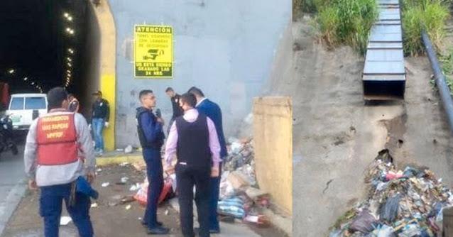 Mataron a dos y los lanzaron por un bajante de basura de la Cota 905