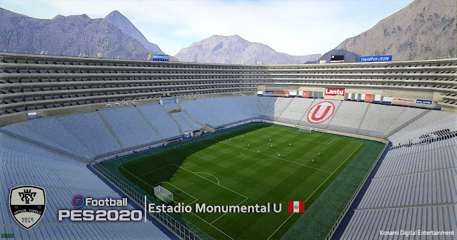 "PES 2020 Estadio Monumental ""U"" by Arthur Torres"
