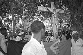 Déroulement d'une cérémonie vaudou religieuse dans affection BB