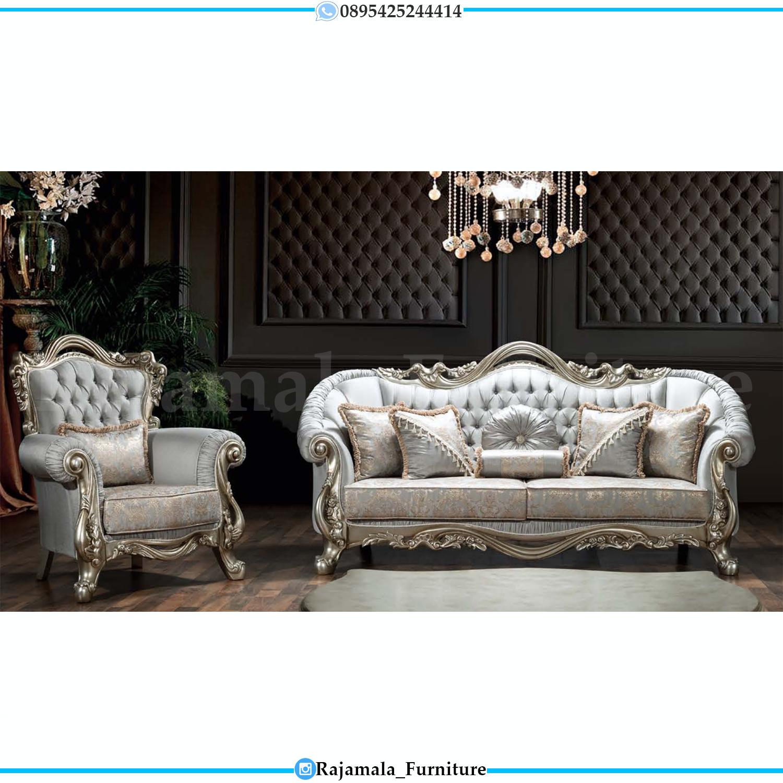 Elegant Sofa Tamu Mewah Jepara New Design Europe Style Luxury Furniture Jepara RM-0092