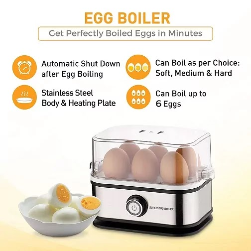 Best Egg Boiler Machine in India | Electric Egg Boiler Reviews 2021