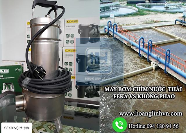Mua máy bơm chìm hút nước thải cần xác định qua yếu tố nào ?