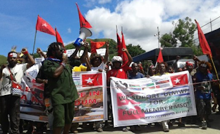 Indonesian forces arrest 15 Papuan activists in Kaimana, wreck office