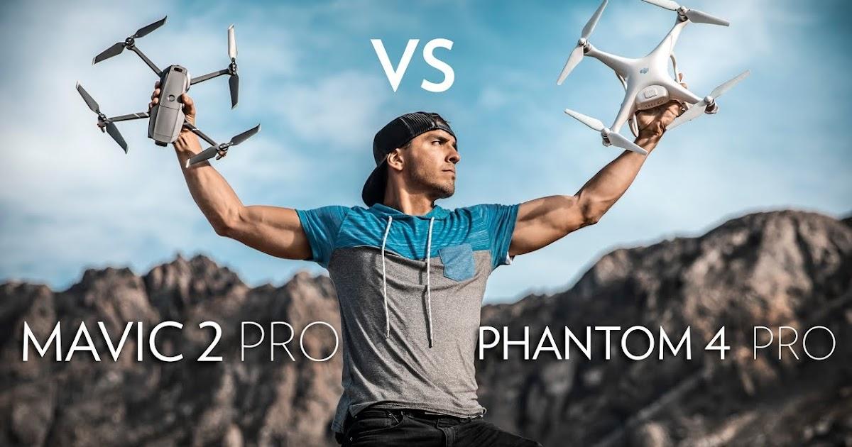 Dji Spark Vs Mavic Pro >> Mavic 2 Pro vs. Phantom 4 Pro In-Depth Comparison - Blog ...