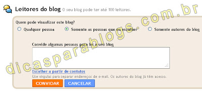 leitores do blog