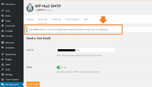 How To Configure WP Mail SMTP For Sendinblue Mailer - WordPress 24