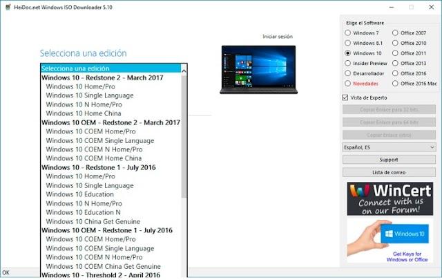 Baixe qualquer ISO do Windows e programas da Microsoft com esta ferramenta