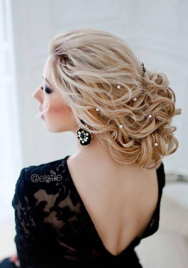 inci taneli gelin saçı modelleri