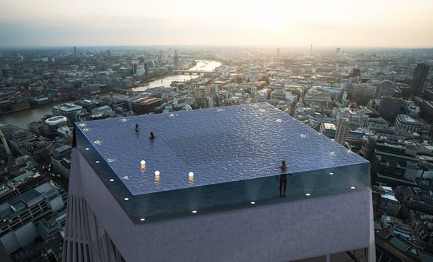 360 degrees swimming pool in London