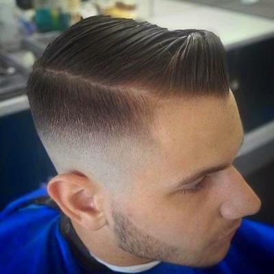 gaya rambut side comb