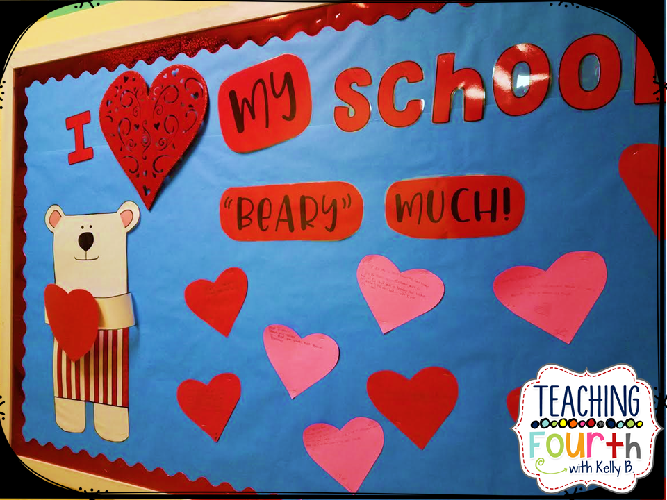 Each Student Was Given A Heart And Asked To Write Something That He/she  Loves About Our School. I Reminded Them That The People Are What Make Up  Our School: ...