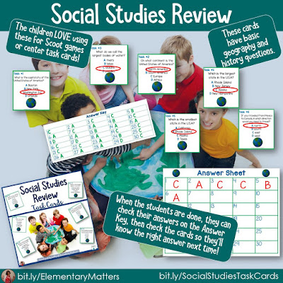 https://www.teacherspayteachers.com/Product/Task-Cards-for-Second-and-Third-Grade-Review-in-Social-Studies-250874?utm_source=blog%20post%2049b&utm_campaign=ss%20Review