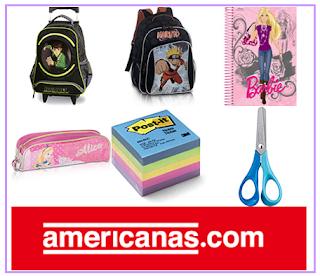 Lojas Americanas Material Escolar