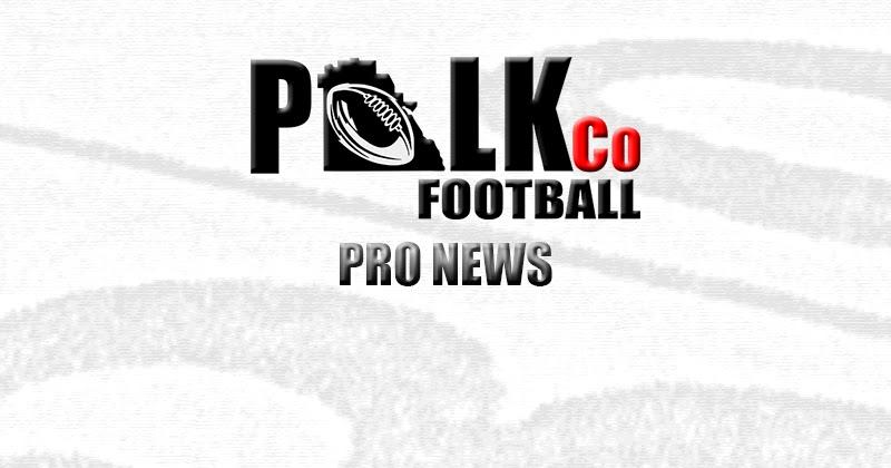 Polk County Football: Chris Rainey 2015 CFL Season
