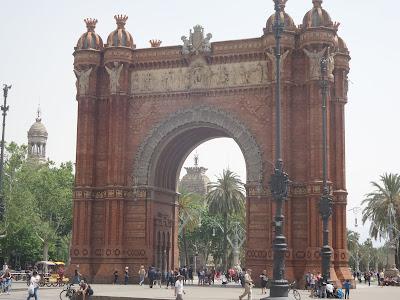 Arco+trionfo+Barcellona