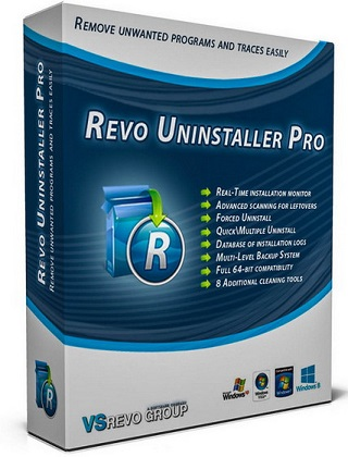 Revo Uninstaller Pro 3.1.9 poster cover poster
