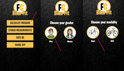 bike fitting app android