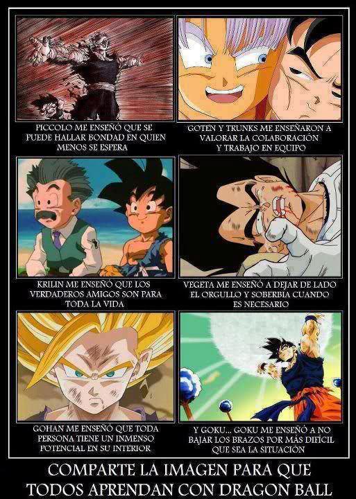 Enseñanzas De Dragon Ball