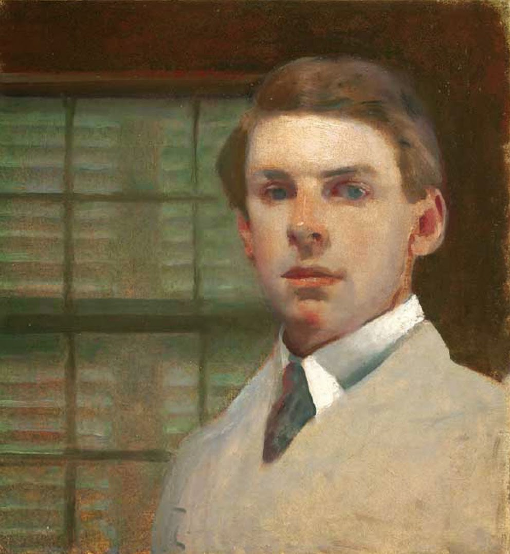Charles Hopkinson, International Art Gallery, Self Portrait
