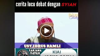 Cerita Lucu H.idrus Ramli Ketika Berdebat Dengan Syiah [Video]