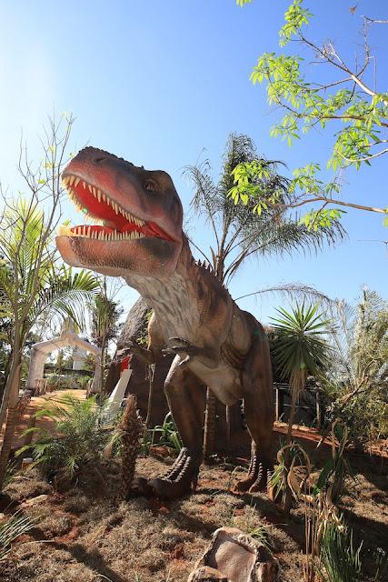 Parque Vale dos Dinossauros, em Olímpia-SP