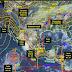 Tormentas intensas, actividad eléctrica y posibles granizadas se prevén durante la noche de hoy en siete estados de México