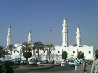 Rasulullah Tiba di Quba dan mendirikan mesjid pertama