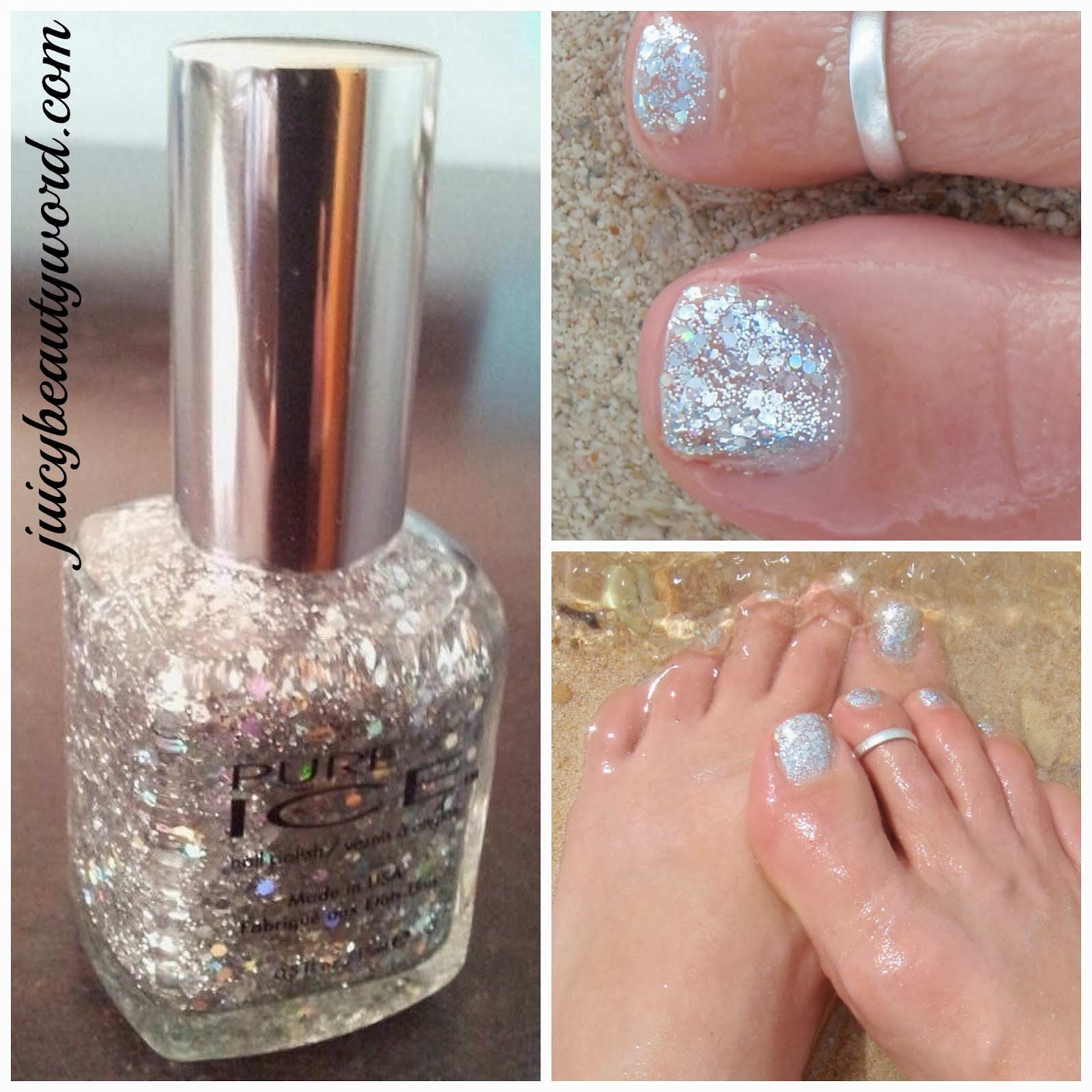 SPARKLING SILVER TOES