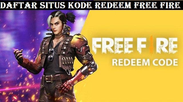 Situs Kode Redeem Free Fire