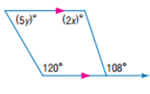 حل تمارين درس 2-2 الزوايا والمستقيمات المتوازية - التوازي والتعامد